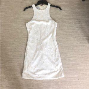 Bebe white sequin dress - XS
